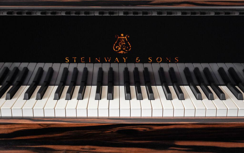 The Piano Keys on the Kravitz Grand