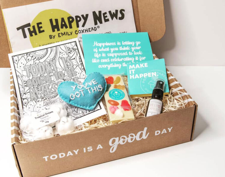 Positive Parcel Offers the Nation a Hug in a Box in this Difficult Year