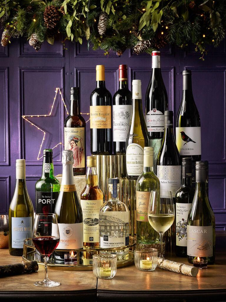 The Wine Society Christmas Tidings Case