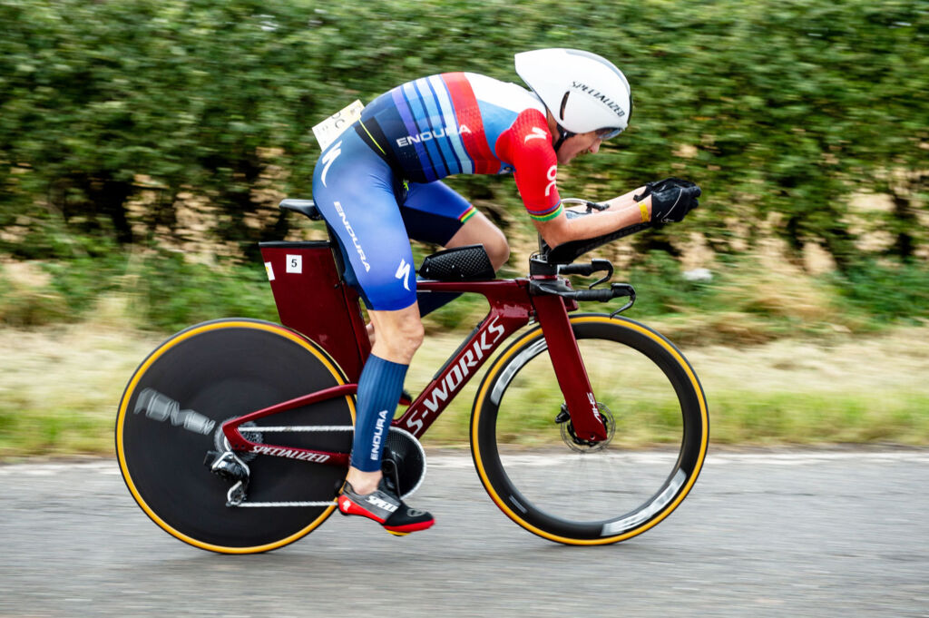 Tim Don training on an S WORKS bike