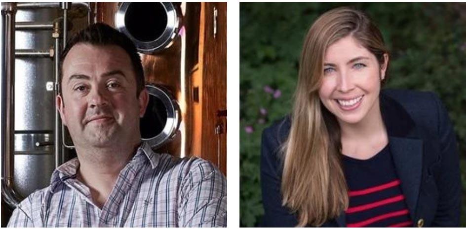 Tom Warner and Tina Warner-Keogh