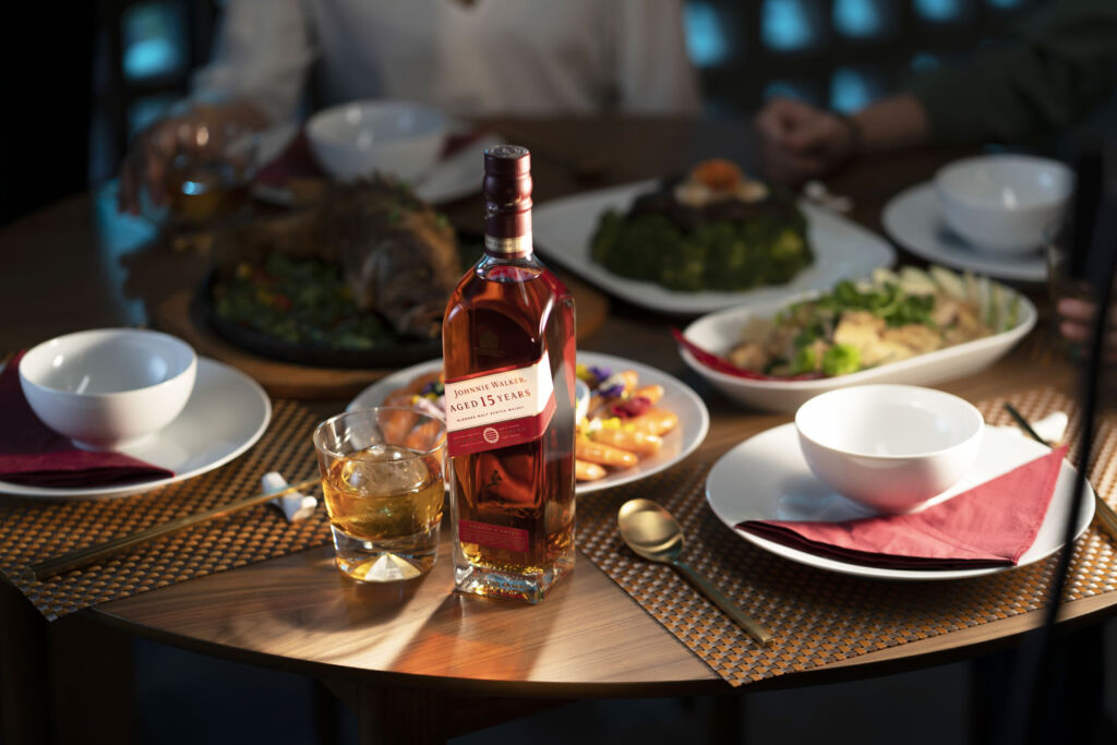 Whisky launch meal with Johnnie Walker in Malaysia