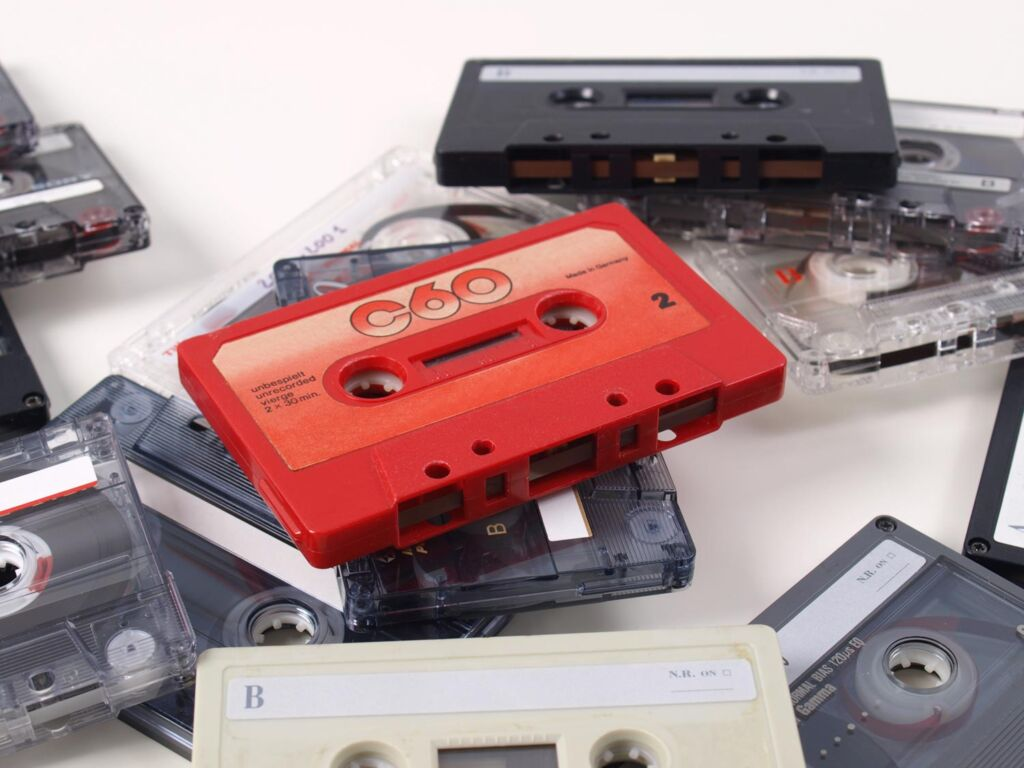 The item of retro-tech missed most by Brits is the cassette tape