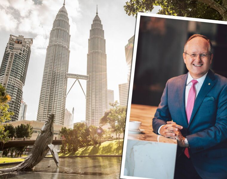 Chatting with Alex Porteous the new GM at Four Seasons Kuala Lumpur