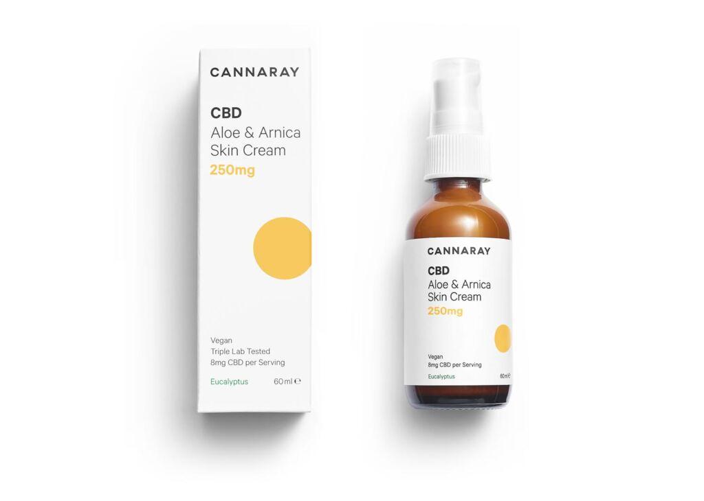 Canaray Aloe & Arnica Skin Cream