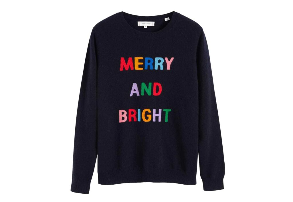 Chinti & Parker Merry and Bright Christmas Sweater