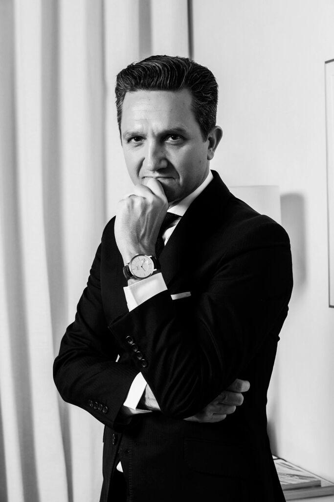 Christophe Bourrié, Piaget's Global Director of High Jewellery