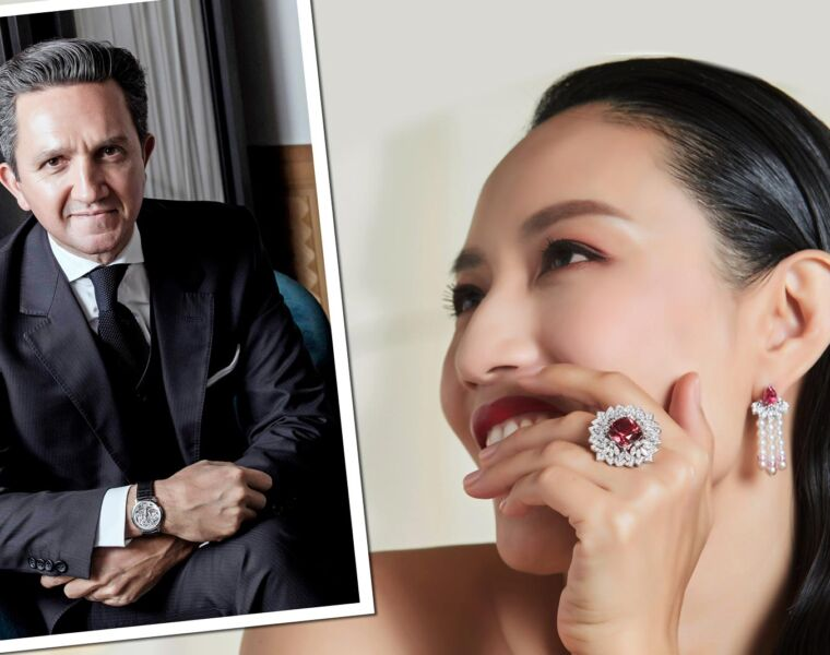 Christophe Bourrié on Piaget's Wings of Light and High Jewellery Collections