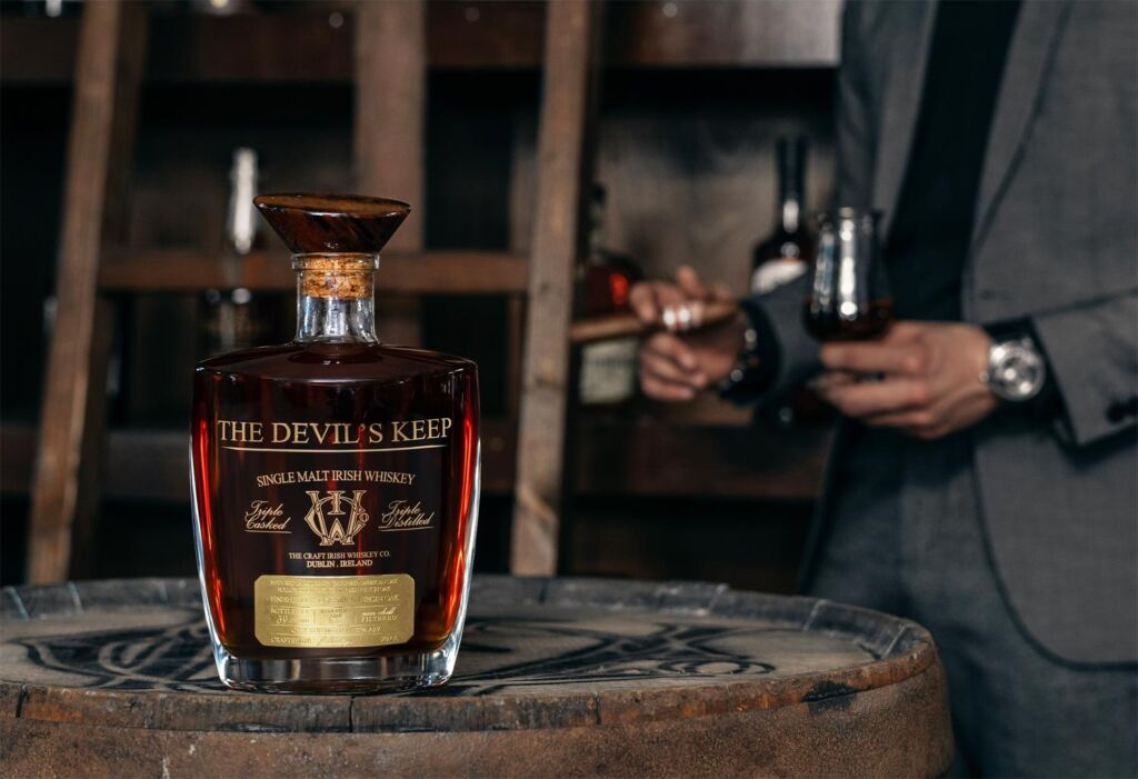 Devil's Keep Irish Whiskey - A Mouth Watering Taste with an Eye Watering Price