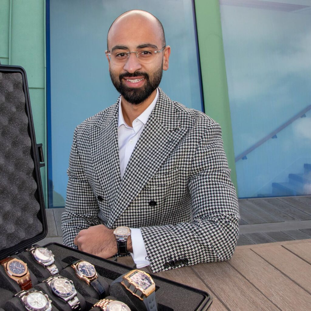 Danny Shahid is well known for his in depth knowledge of watches