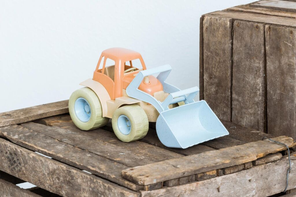 The Dantoy Bio-Toy Front Loader Tractor