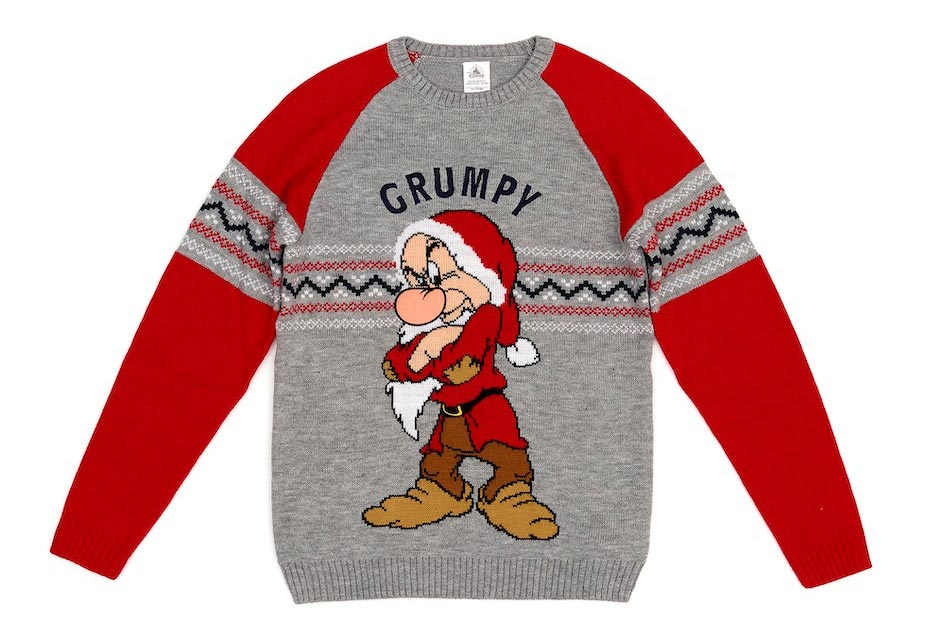 Disney Store Grumpy Christmas Jumper