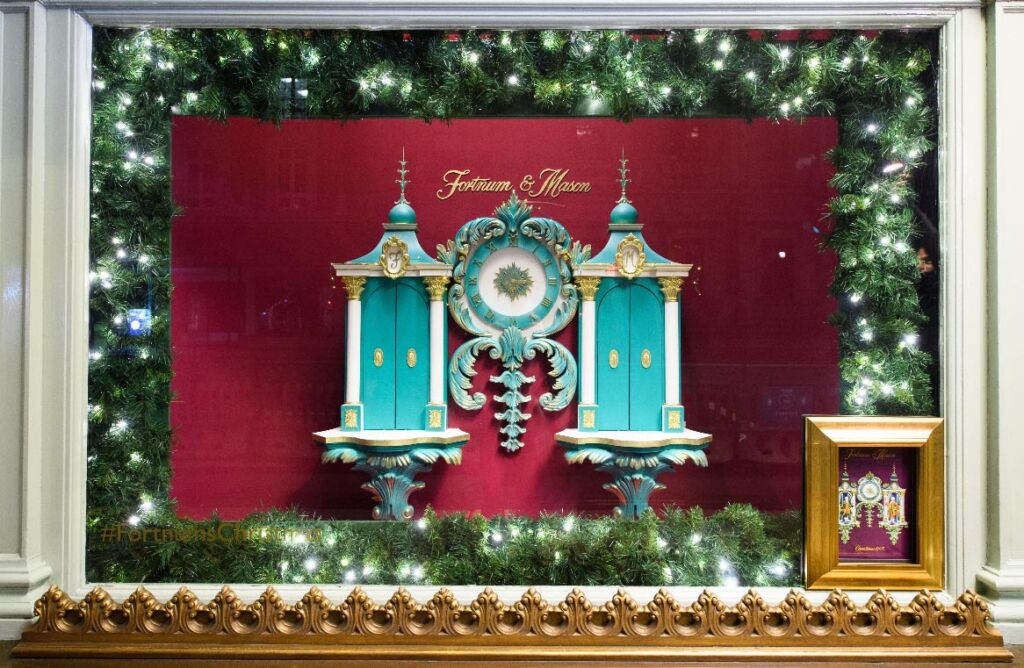Fortnum & Mason Christmas Window Display 2020