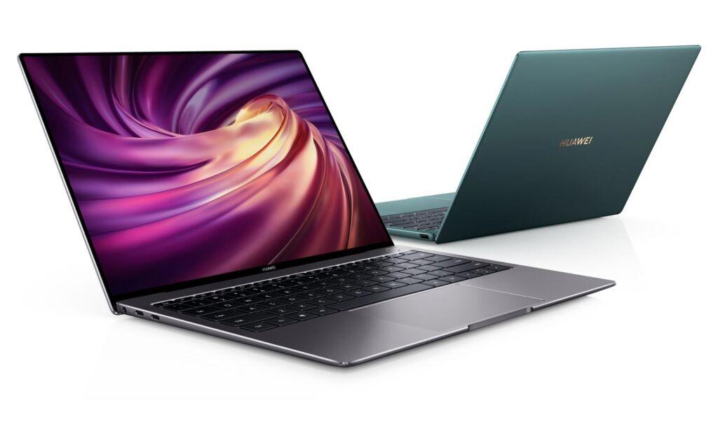 Huawei MateBook X Pro 2020 Emerald Green Edition laptop