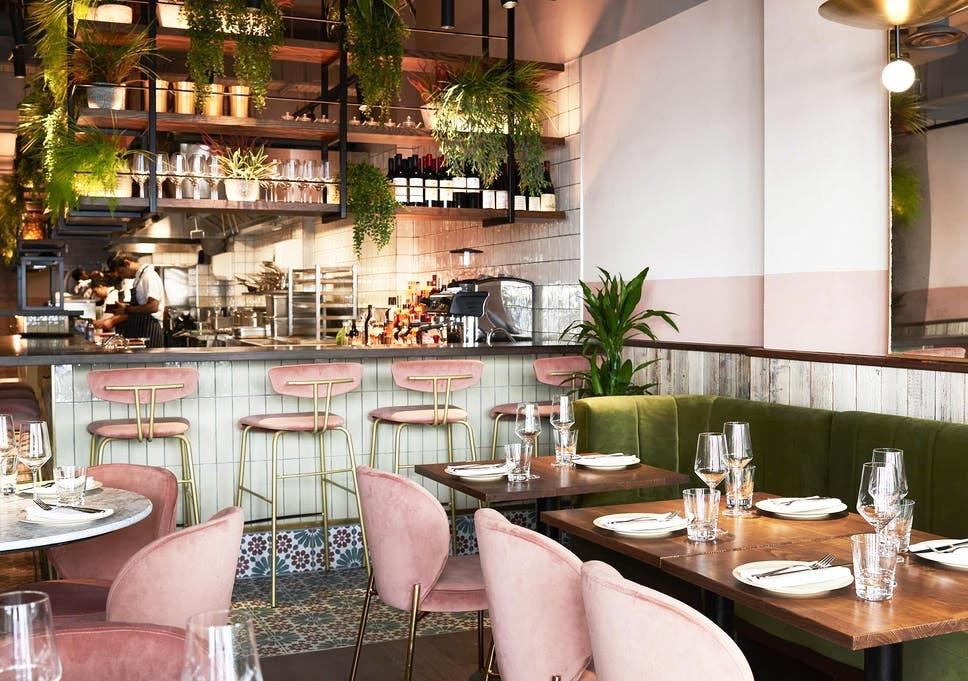 The tasteful interior inside Nutshell London