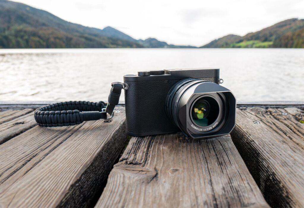 Leica Q2 Monochrom black and white compact camera