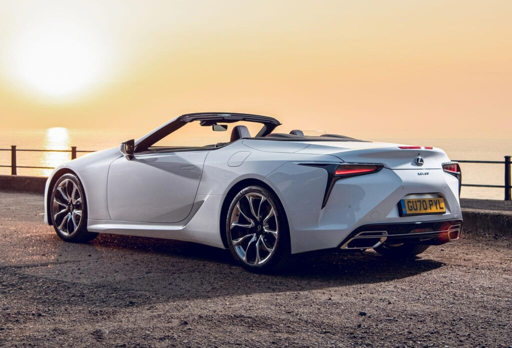 Luxurious Magazine Road Tests the Lexus LC 500 Convertible