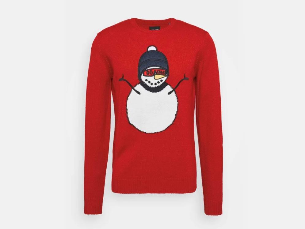 Lindex (at Zalando) Here's Santa Sweatshirt