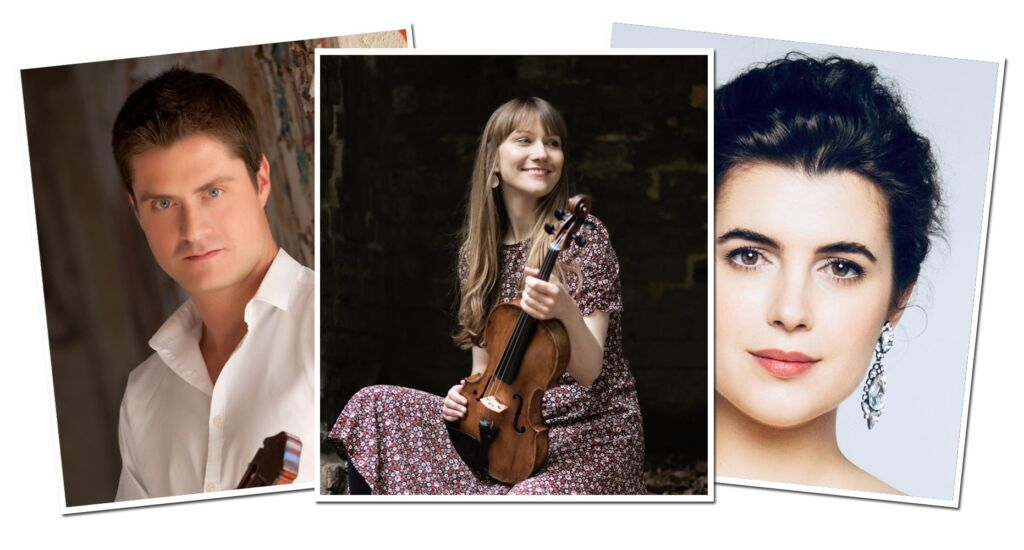 Three of the NS Premiere Recitals performers