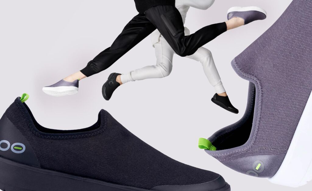 Treat Your Feet To An On The Go Massage With OOFOS Footwear