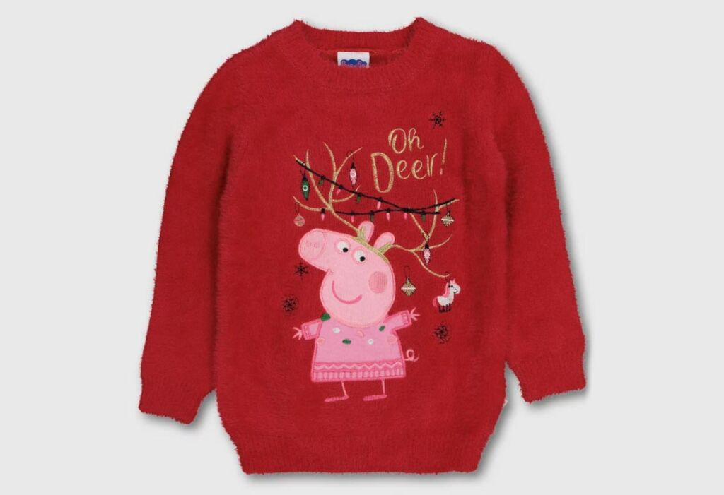 Peppa Pig Fluffy Christmas Jumper