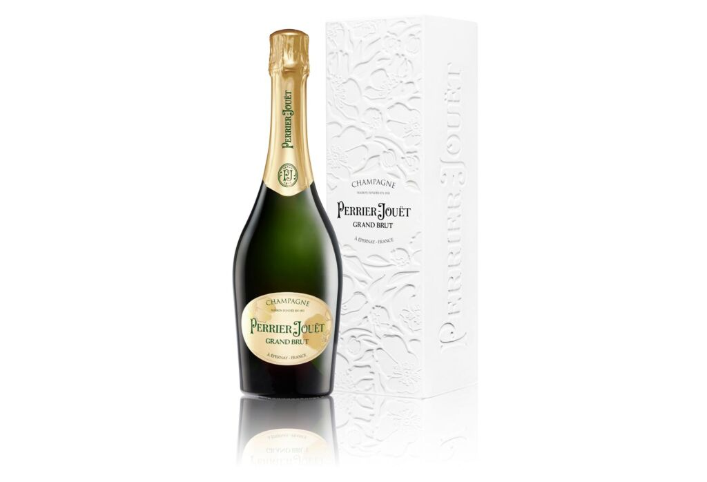 Perrier-Jouët Grand Brut champagne with Eco Gift Box