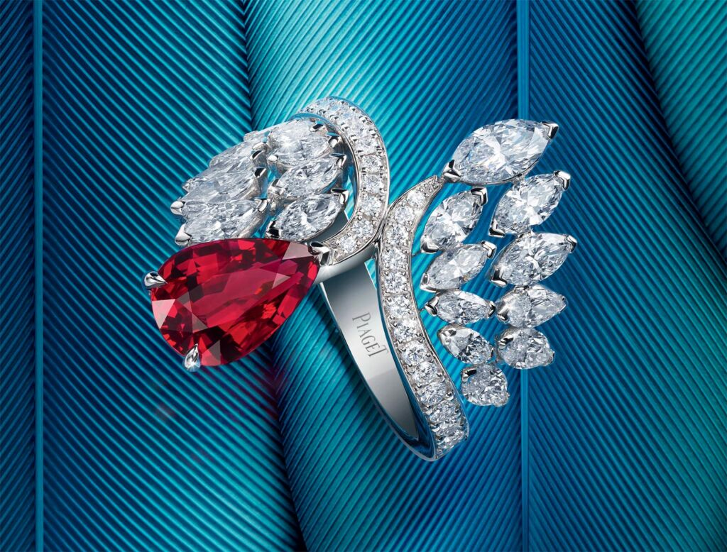 A gorgeous diamond ring made by Piaget's master jewellers