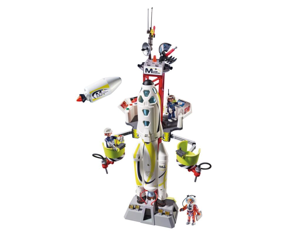 Playmobil Space Mission Rocket Launch Site playset