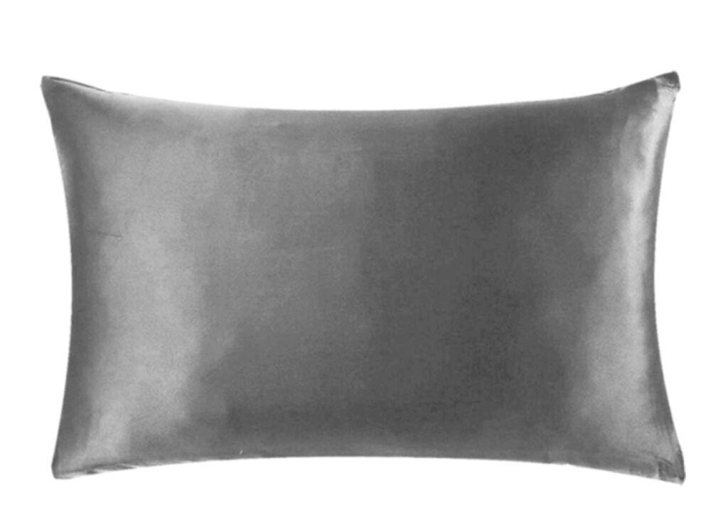 Silver coloured Silk Pillowcase by This Is Silk