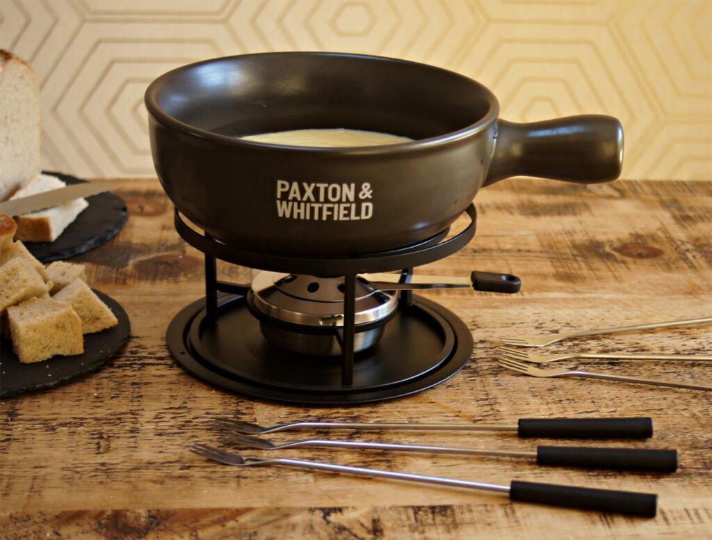 Six-person Paxton & Whitfield fondue set