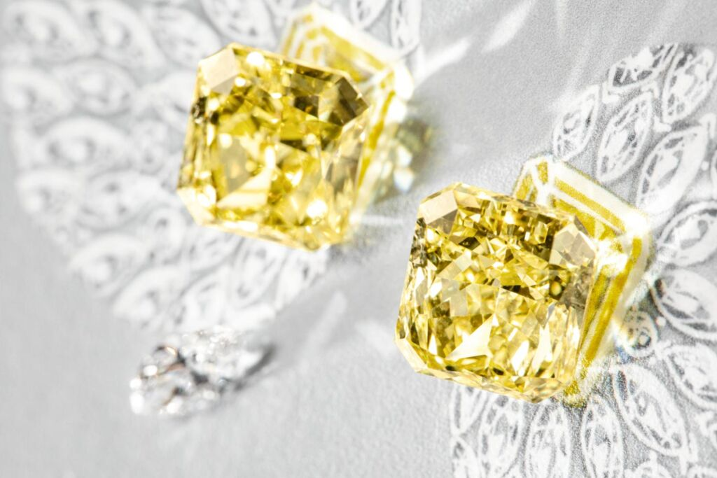 The gemstones used in Piaget's high end jewellery