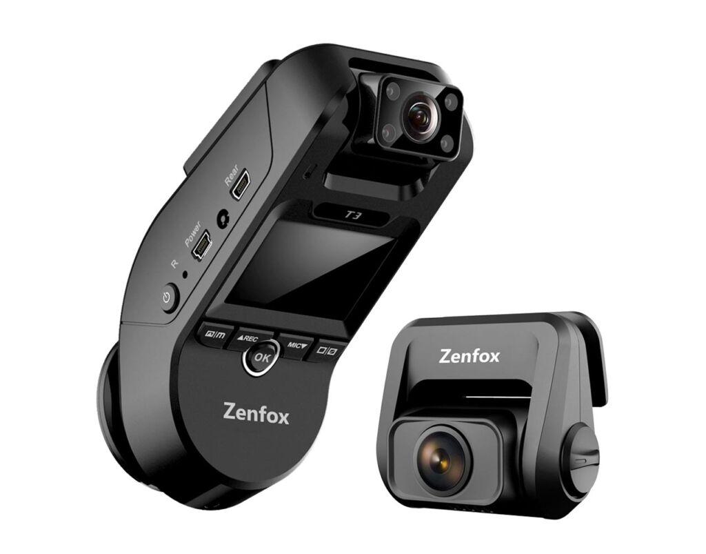 Zenfox T3 3CH triple channel dashcam