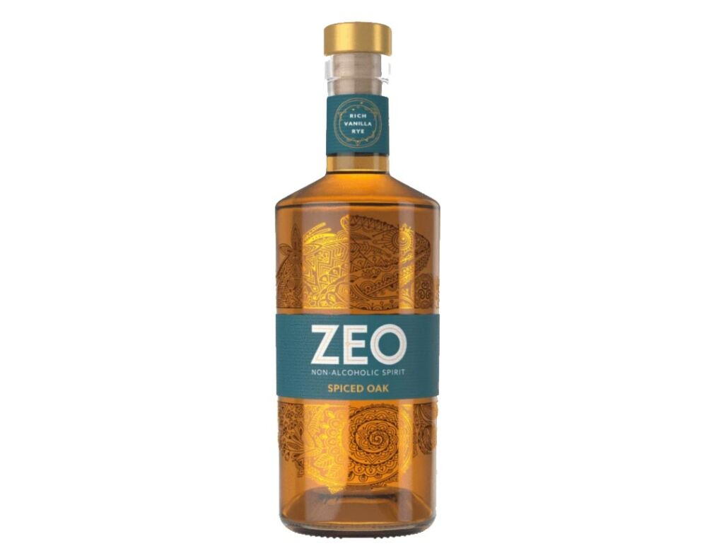 Zeo Spiced Oak Non-Alcoholic Spirit