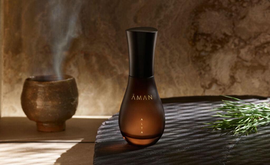 A bottle of Aman ALTA