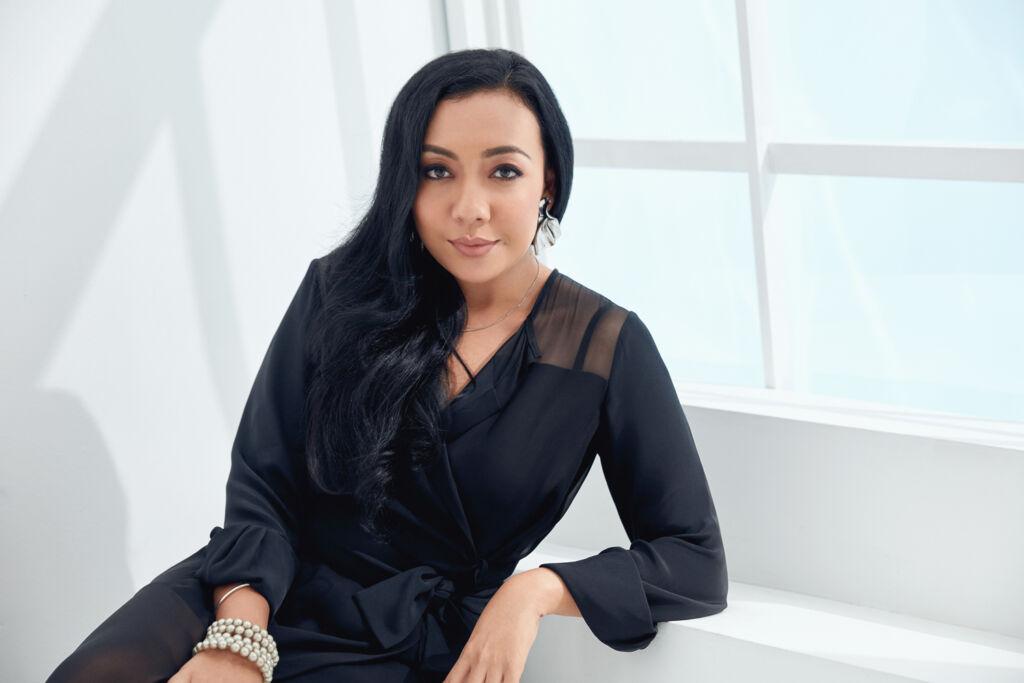 The designer Alia Bastamam