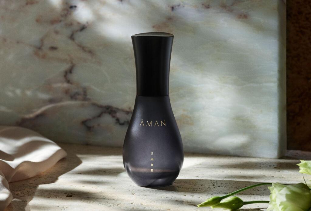 Bottle of AMAN Umbr Fragrance