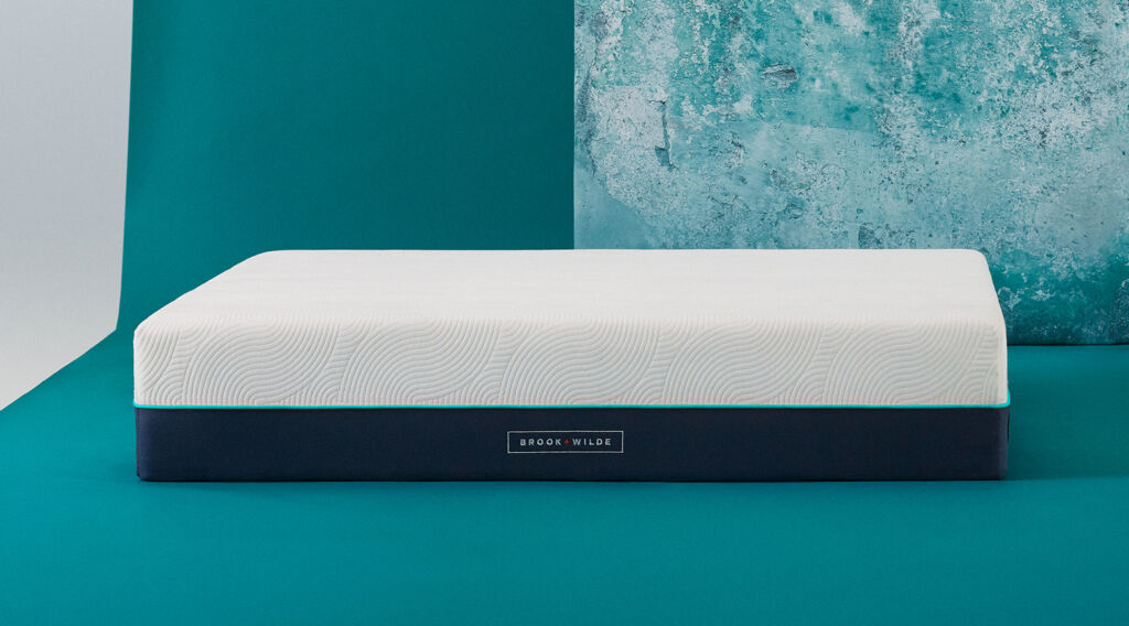 A side view of the Brook + Wilde Elite Mattress