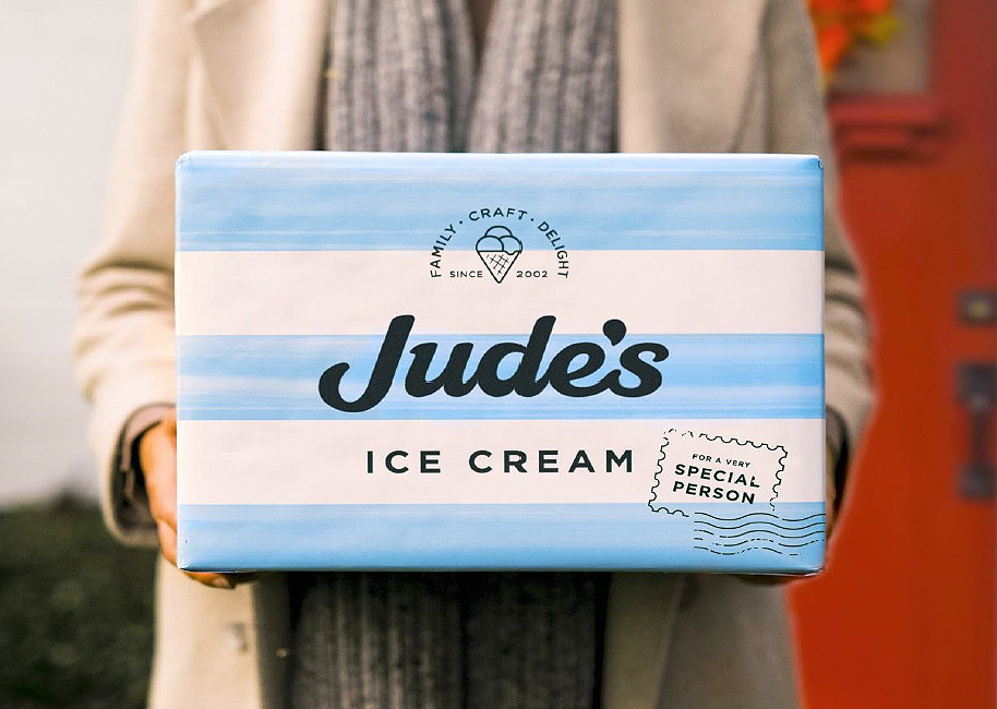 Jude's Launches Limited Edition Ice Cream Gift Boxes for Valentine's