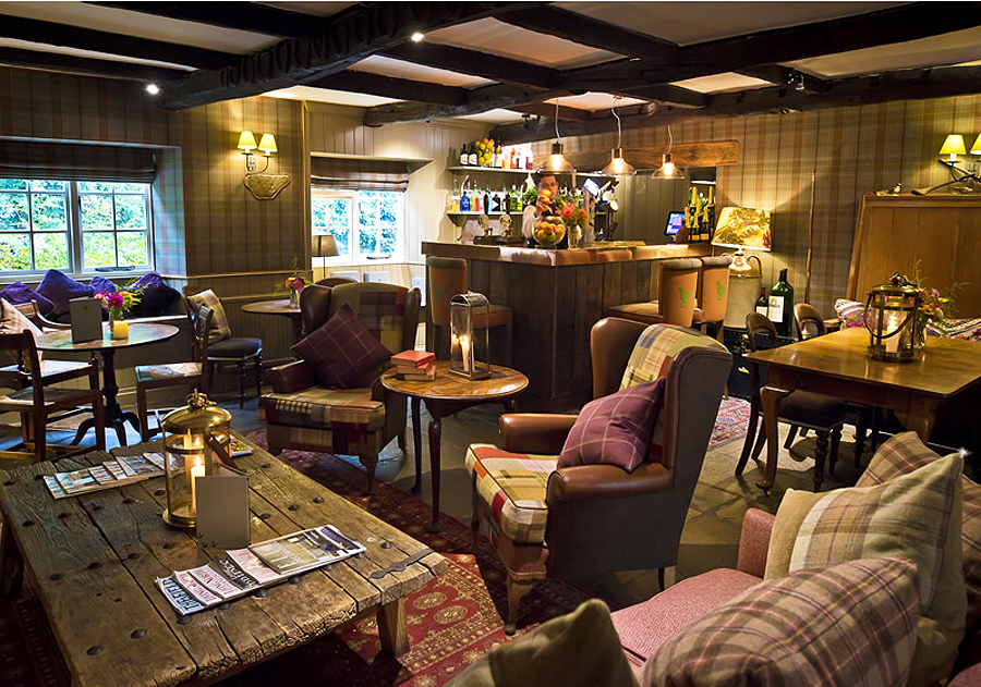 Inside the cosy and inviting bar