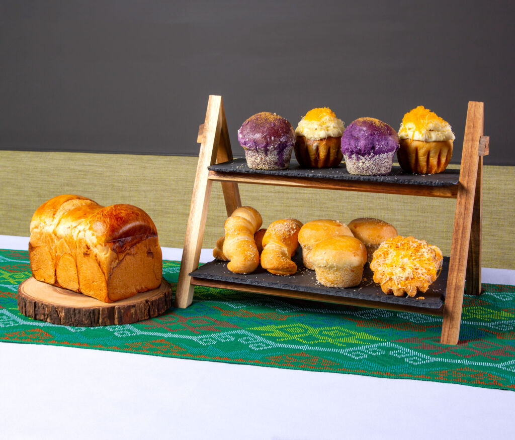 A display of Traditional Filipino cakes and pastries