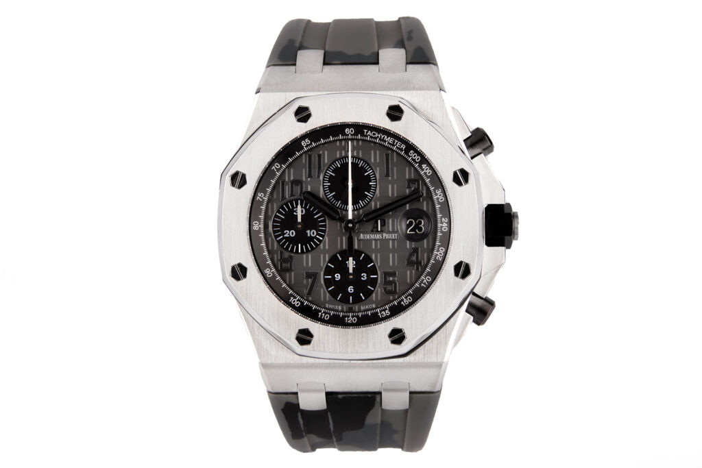 The Audemars Piguet Royal Oak Offshore Chronograph ref. 26470ST is one of Danny Shahid's top tips