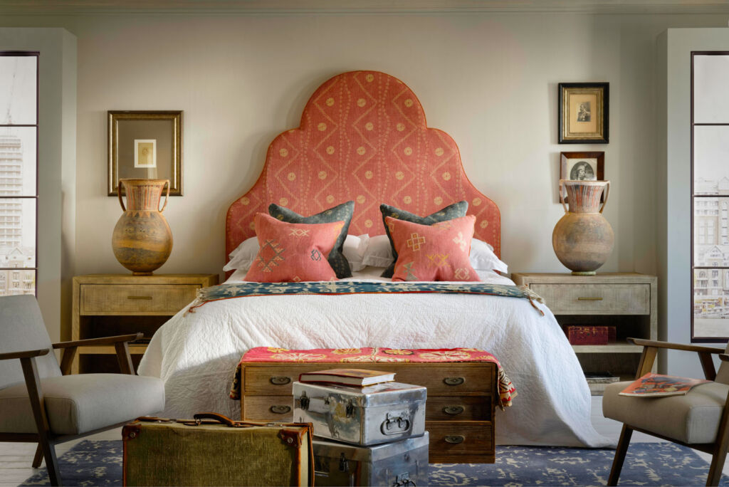 Image showing some of the products and soft furnishings available for the bedroom