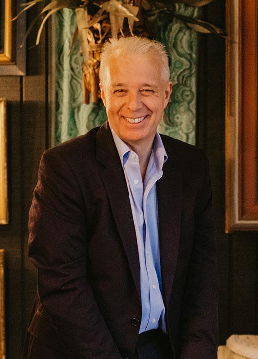 Martin Waller the founder of Andrew Martin