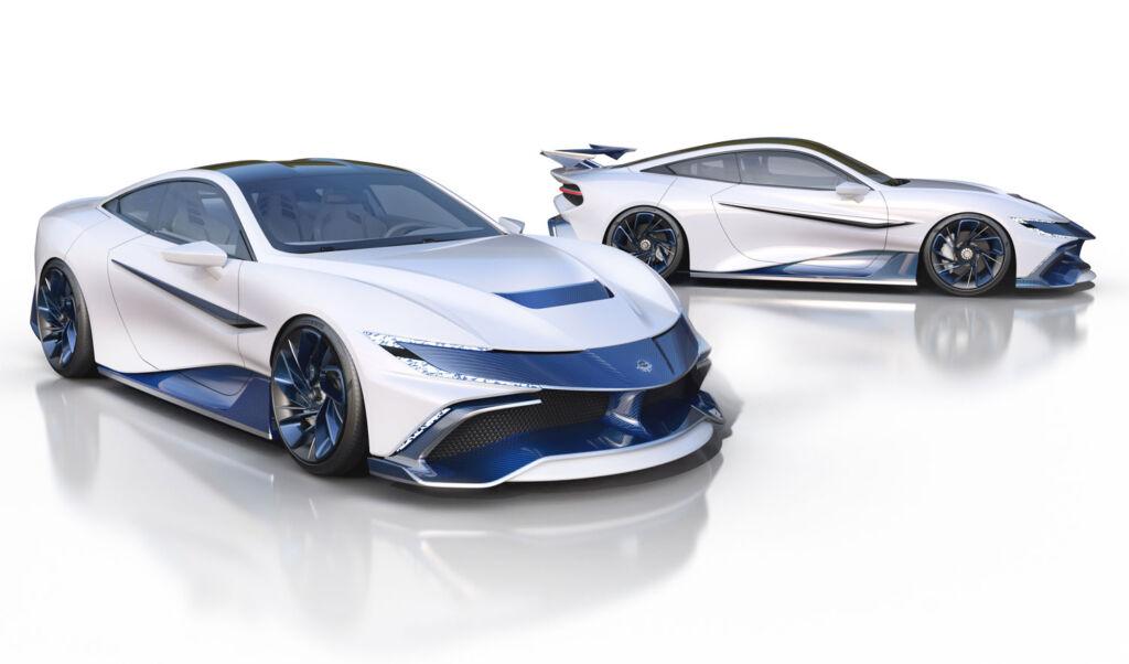 Naran Automotive's Debut Hyper-Coupé Gets a Celare Pack