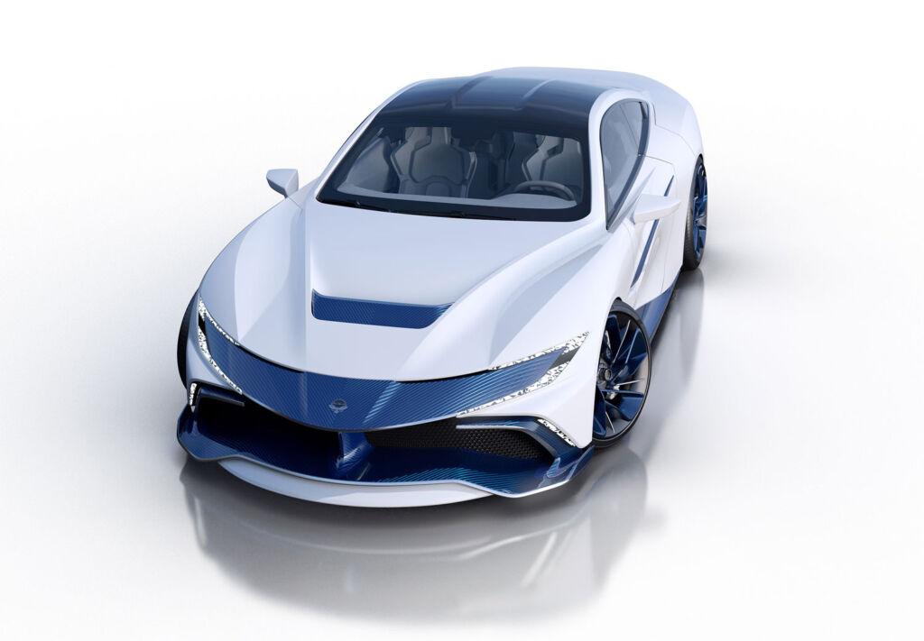Naran Automotive Hyper car front view