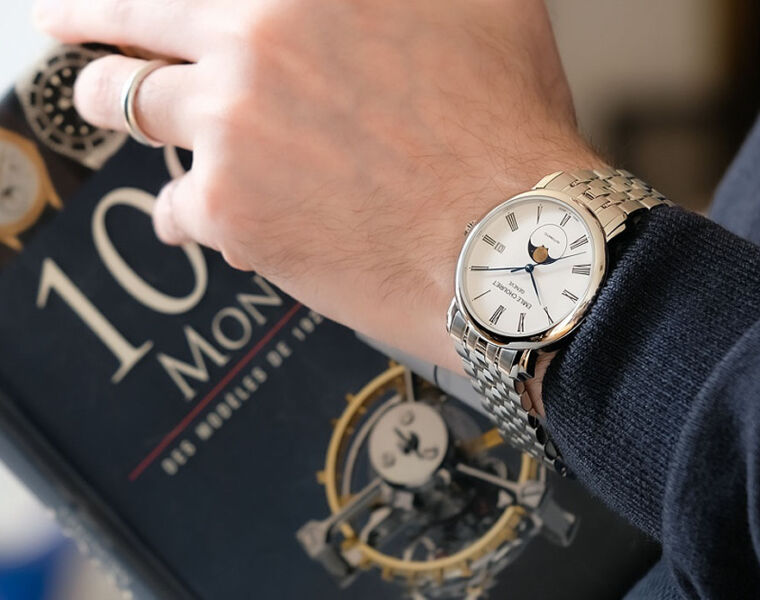 Starry-Eyed over Emile Chouriet's Lac Léman Classic Moonphase