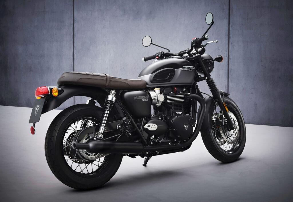 The Triumph Bonneville T120 Black