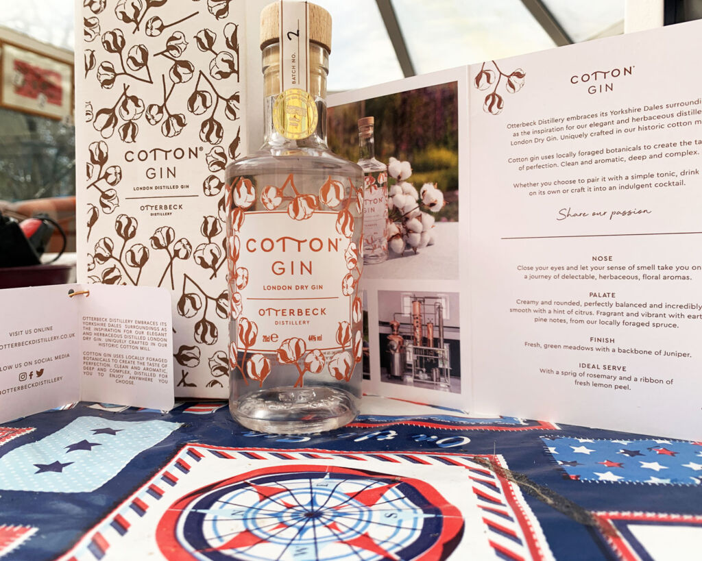 Otterbeck's Cotton Gin is an Ideal Tipple to Celebrate Mothers Day