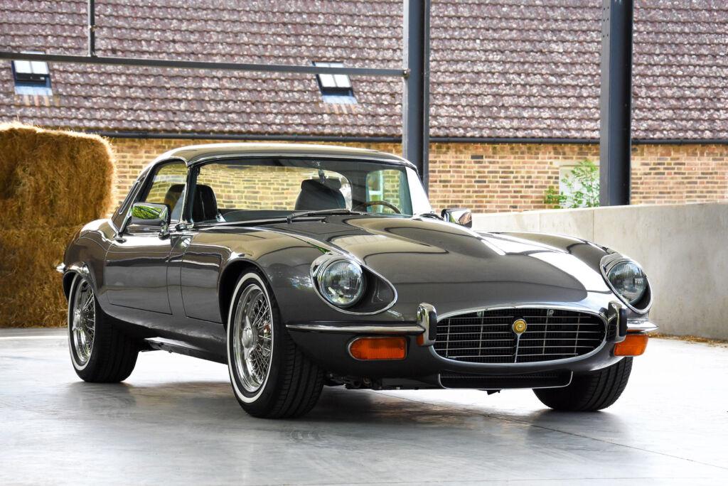 A bespoke restoration project on a Jaguar E-type