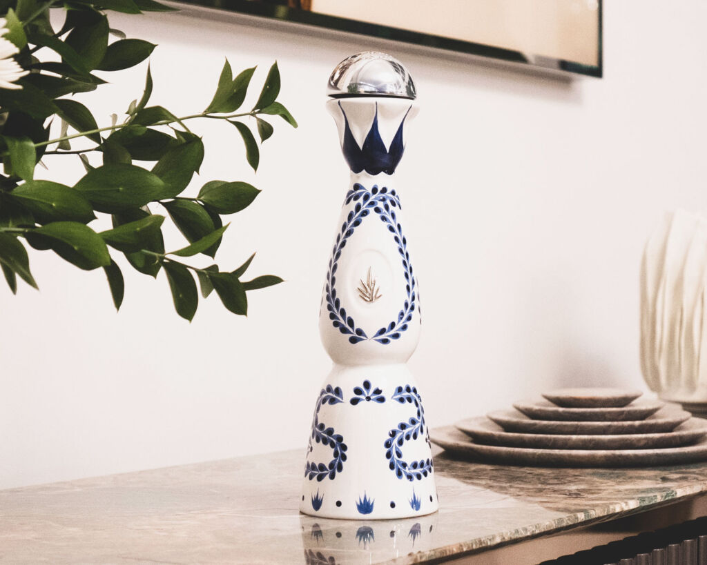 A bottle of Clase Azul's Reposado Tequila